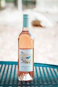 2Hawk Vineyard and Winery 2018 Grenache Rose Wine