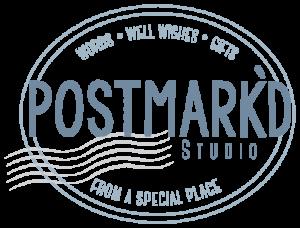 Postmark'd Studio Logo