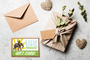 Rogue Produce Gift Card with Envelope